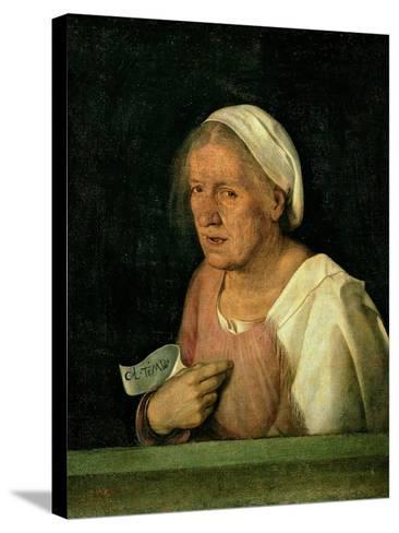 La Vecchia (The Old Woman) after 1505-Giorgione-Stretched Canvas Print