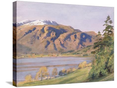 Coniston-Joseph Arthur Palliser Severn-Stretched Canvas Print