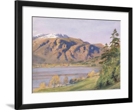 Coniston-Joseph Arthur Palliser Severn-Framed Art Print