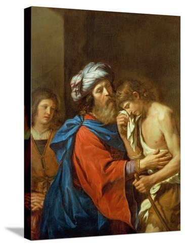 The Return of the Prodigal Son-Guercino (Giovanni Francesco Barbieri)-Stretched Canvas Print