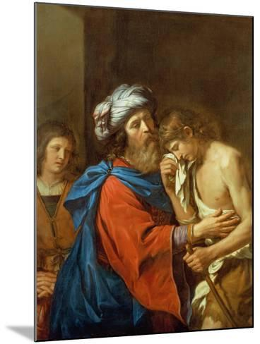 The Return of the Prodigal Son-Guercino (Giovanni Francesco Barbieri)-Mounted Giclee Print