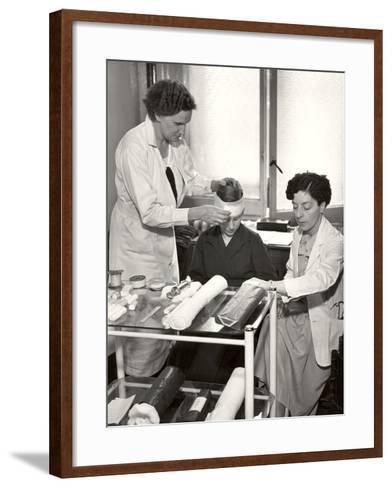 Post Office Medical Department, 1935--Framed Art Print