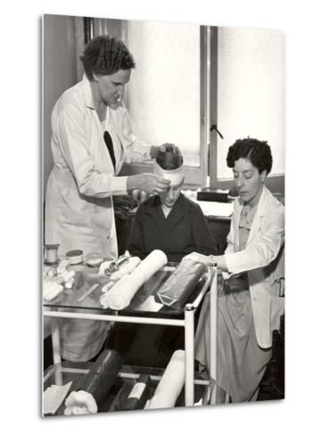 Post Office Medical Department, 1935--Metal Print