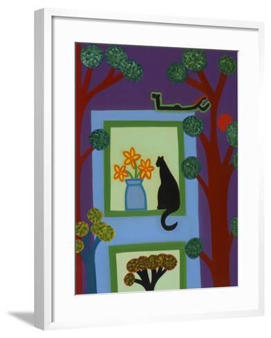 Dhe Cat from Askew Crescent, 2008-Cristina Rodriguez-Framed Art Print