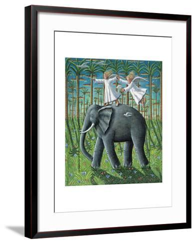 Learning to Fly, 2010-P.J. Crook-Framed Art Print