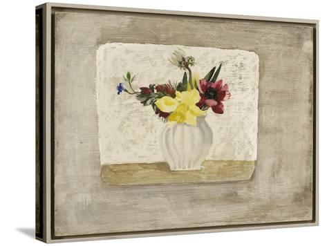 Spring Flowers in a White Jar, c.1928-Christopher Wood-Stretched Canvas Print