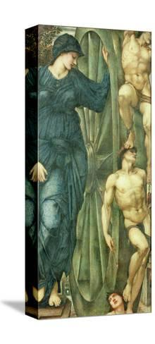 The Wheel of Fortune, 1871-85-Edward Burne-Jones-Stretched Canvas Print