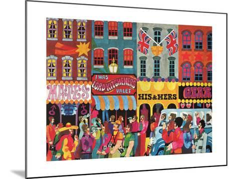 A Saturday Morning 1, from 'Carnaby Street' by Tom Salter, 1970-Malcolm English-Mounted Giclee Print