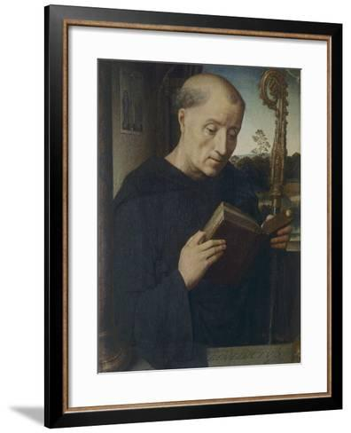 St. Benedict, 1487-Hans Memling-Framed Art Print