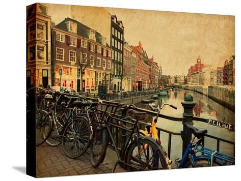 Amsterdam-A_nella-Stretched Canvas Print