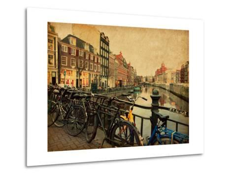 Amsterdam-A_nella-Metal Print