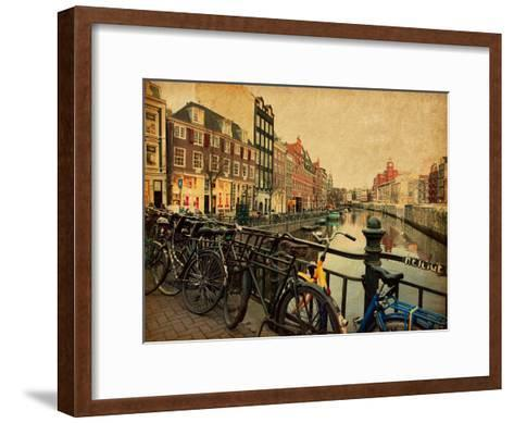 Amsterdam-A_nella-Framed Art Print