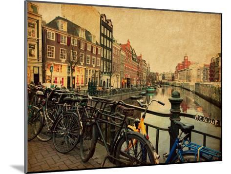Amsterdam-A_nella-Mounted Art Print