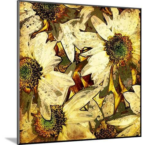 Art Floral Vintage Colorful Background. To See Similar, Please Visit My Portfolio-Irina QQQ-Mounted Art Print
