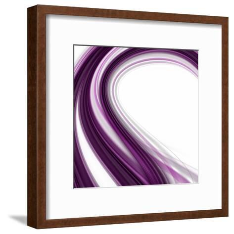 Abstract Elegant Background Design With Space For Your Text-Frank Rohde-Framed Art Print