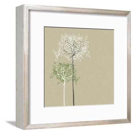 Trees Background-pashabo-Framed Art Print
