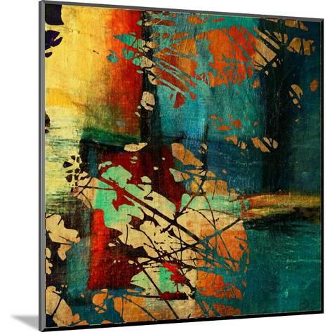 Art Grunge Vintage Texture Background. To See Similar, Please Visit My Portfolio-Irina QQQ-Mounted Art Print