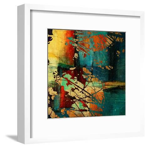 Art Grunge Vintage Texture Background. To See Similar, Please Visit My Portfolio-Irina QQQ-Framed Art Print