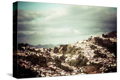 View Of The Unesco World Heritage City Of Ouro Preto In Minas Gerais Brazil-Mariusz Prusaczyk-Stretched Canvas Print