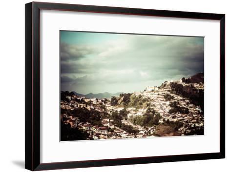 View Of The Unesco World Heritage City Of Ouro Preto In Minas Gerais Brazil-Mariusz Prusaczyk-Framed Art Print