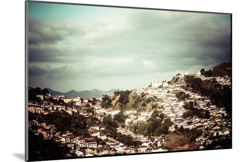 View Of The Unesco World Heritage City Of Ouro Preto In Minas Gerais Brazil-Mariusz Prusaczyk-Mounted Art Print