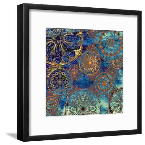 Art Grunge Pattern. To See Similar, Please Visit My Portfolio-Irina QQQ-Framed Art Print