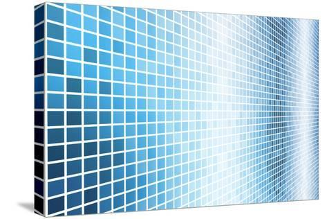 Simple And Clean Background Abstract In Grid-kentoh-Stretched Canvas Print
