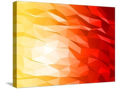 Abstract 3D Triange-Piko72-Stretched Canvas Print