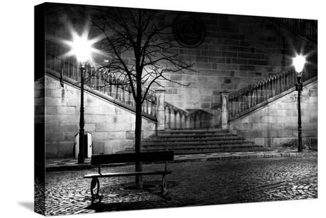 Charles Bridge From The Side Of Mala Strana, Prague-Nataliya Hora-Stretched Canvas Print