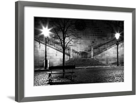 Charles Bridge From The Side Of Mala Strana, Prague-Nataliya Hora-Framed Art Print