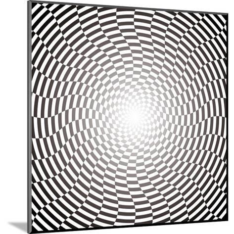 Optical Illusion Wallpaper:Raster Version-traffico-Mounted Art Print