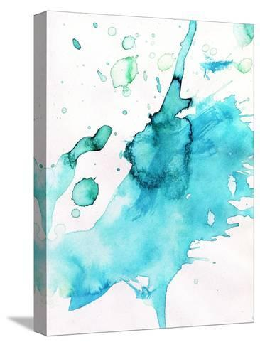 Abstract Watercolor Hand Painted Background-katritch-Stretched Canvas Print
