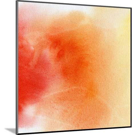 Abstract Watercolor Hand Painted Background-katritch-Mounted Art Print
