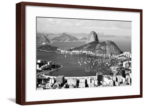 Sugarloaf Mountain In Rio De Janeiro-CelsoDiniz-Framed Art Print