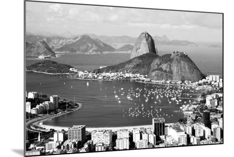 Sugarloaf Mountain In Rio De Janeiro-CelsoDiniz-Mounted Art Print
