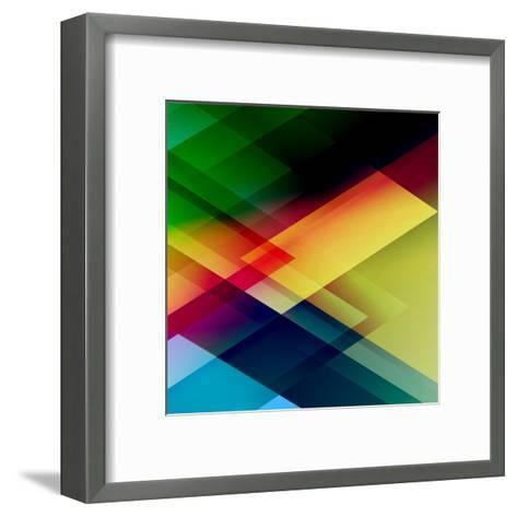Abstract Colorful-Click Bestsellers-Framed Art Print