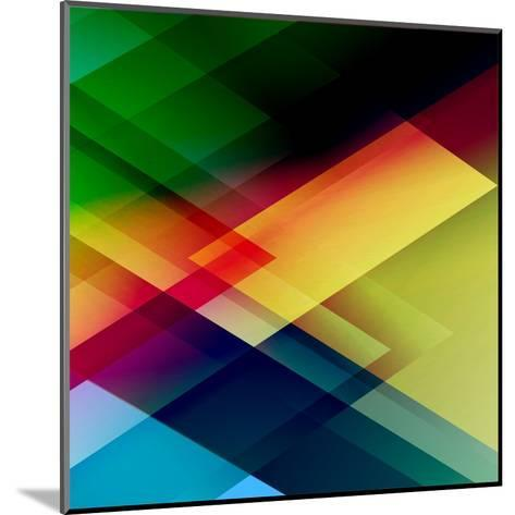 Abstract Colorful-Click Bestsellers-Mounted Art Print