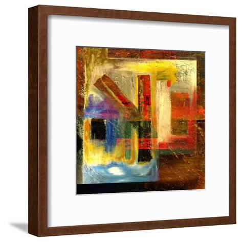 Abstract Oil Painting-Rinderart-Framed Art Print