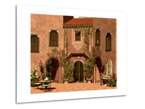 Andalusian Impression-Atelier Sommerland-Metal Print