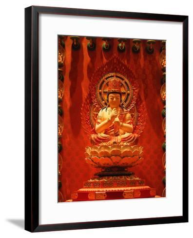 Buddha In Chinese Temple-Sira Anamwong-Framed Art Print