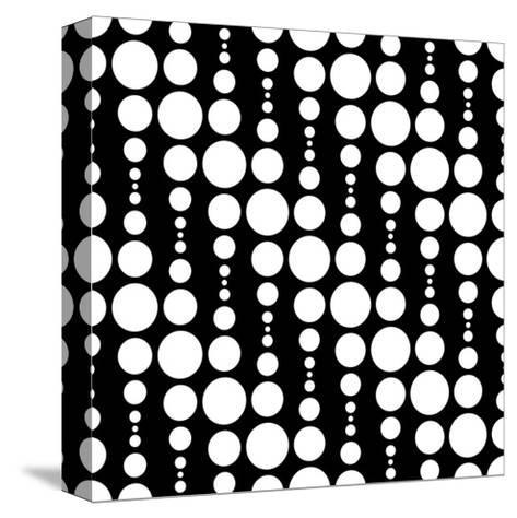 Monochrome Geometric Design-Maksim Krasnov-Stretched Canvas Print