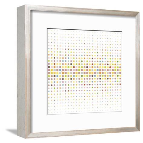 Multicolored Dot Background-katritch-Framed Art Print