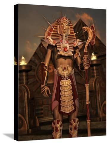 Fantasy Ancient Egyptian-Atelier Sommerland-Stretched Canvas Print