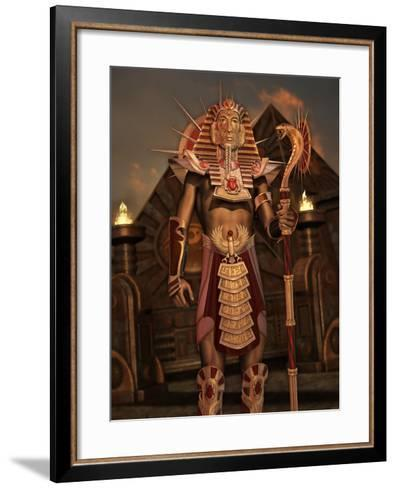 Fantasy Ancient Egyptian-Atelier Sommerland-Framed Art Print
