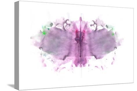 Butterfly Paint Splat-pdtnc-Stretched Canvas Print
