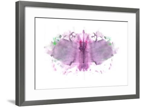 Butterfly Paint Splat-pdtnc-Framed Art Print