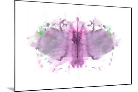Butterfly Paint Splat-pdtnc-Mounted Art Print