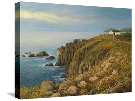 Land'S End In Cornwall-kirilstanchev-Stretched Canvas Print