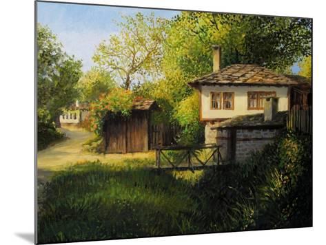 Late Afternoon In Bojenci-kirilstanchev-Mounted Art Print