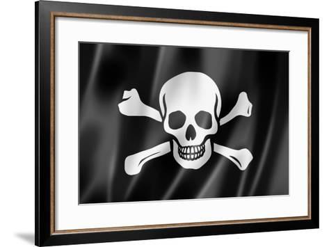 Pirate Flag, Jolly Roger-daboost-Framed Art Print